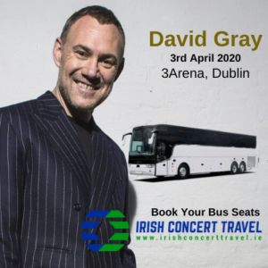 Bus to David Gray 3arena 3rd April 2020