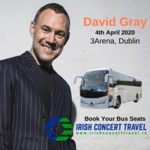 Bus to David Gray 3arena 4th April 2020