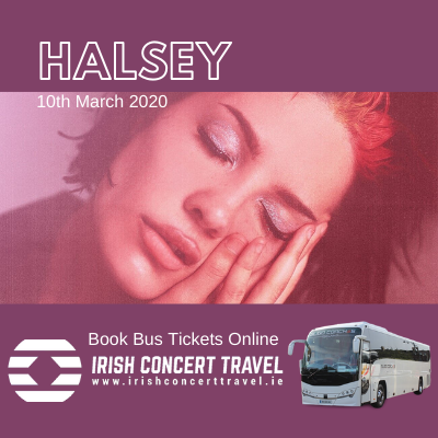 Bus to Halsey in the 3arena 10th March 2020
