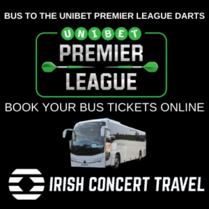 Bus to Unibet Premier League Darts 27th February 2020