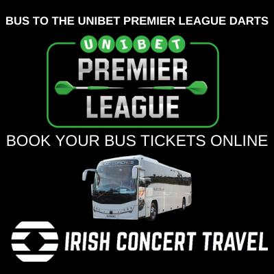 Bus to Unibet Premier League Darts 27th February 2020