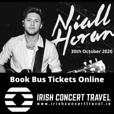 Bus to Niall Horan in the 3arena 30th October 2020