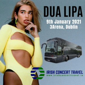 Bus to Dua Lipa 3arena 9th January 2021
