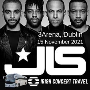 Bus to JLS Concert 15th November 2021