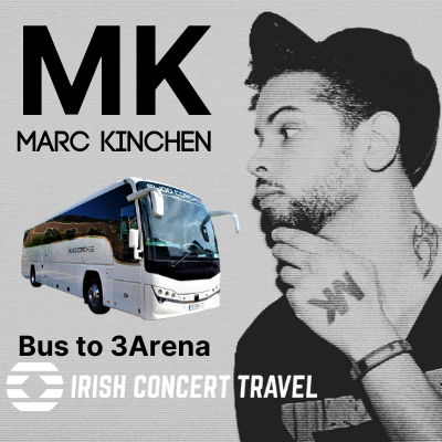 Bus to MK in the 3Arena, 26th November 2021